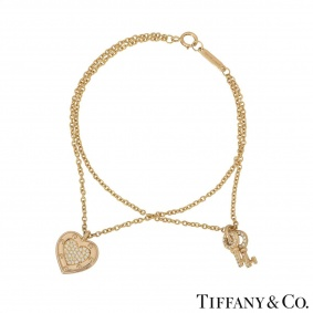 Tiffany & Co. Yellow Gold Return to Tiffany Bracelet